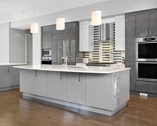 17 Amazing Grey Kitchen Design Ideas