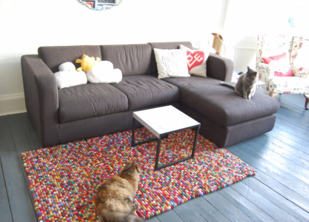 15 Chic DIY Rug Ideas You Can Make Right Away! (12)