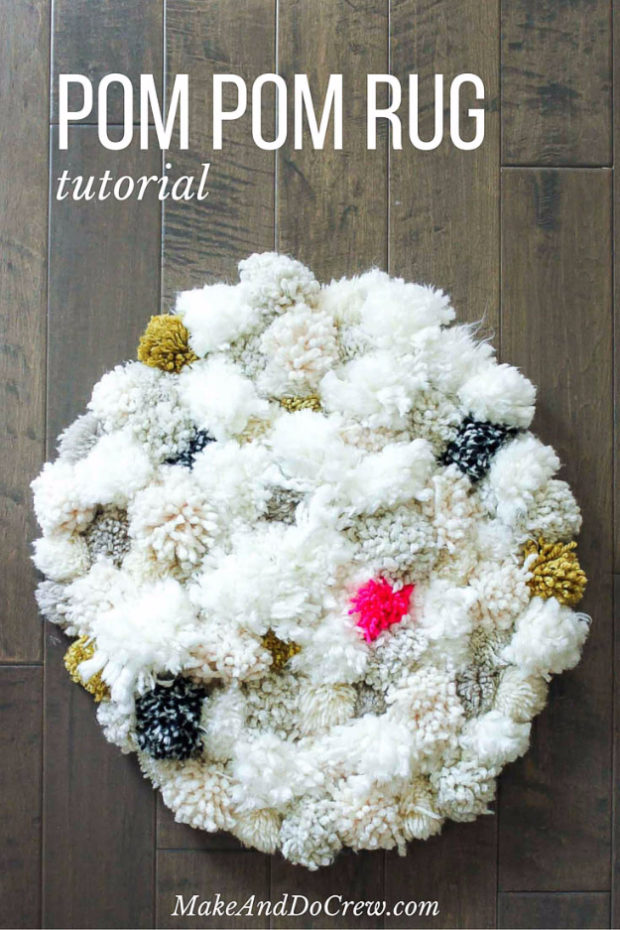 15 Chic DIY Rug Ideas You Can Make Right Away! (5)