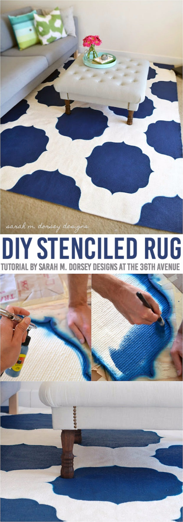 15 Chic DIY Rug Ideas You Can Make Right Away! (7)