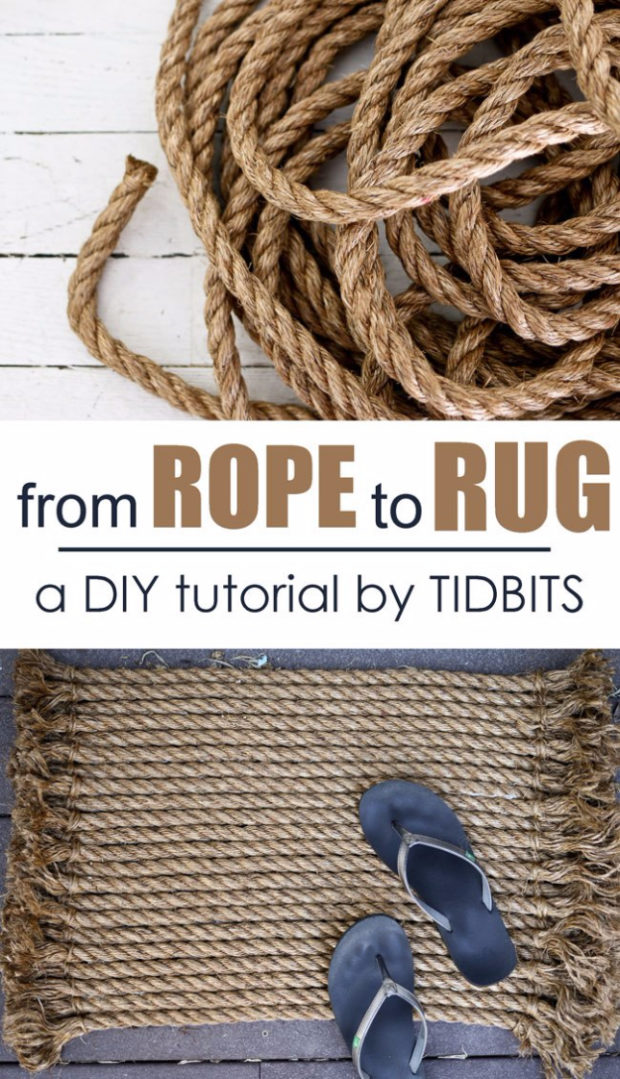 15 Chic DIY Rug Ideas You Can Make Right Away! (8)