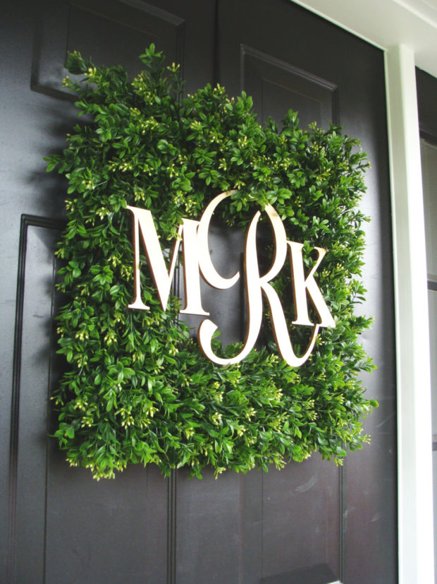 15 Colorful Handmade Summer Wreath Ideas To Refresh Your Front Door (11)