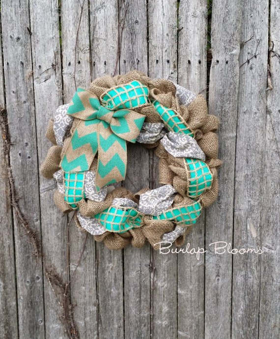 15 Colorful Handmade Summer Wreath Ideas To Refresh Your Front Door (4)