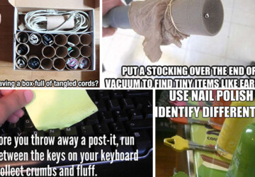 15 Crazy Life Hacks That Will Make Your Life Easier - trick, recycle, problem, lifehack, life hack, life, handmade, hacks, hack, everyday, Easy, diy, craft