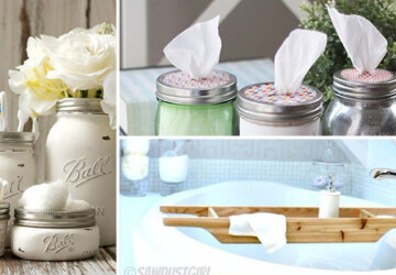 15 Genius DIY Ideas To Improve Your Bathroom For Free - Storage, save money, Repurpose, recycle, organizer, ideas, home, holder, handmade, free, DIY ideas, diy, decor, craft, cabinet, bathroom, bath