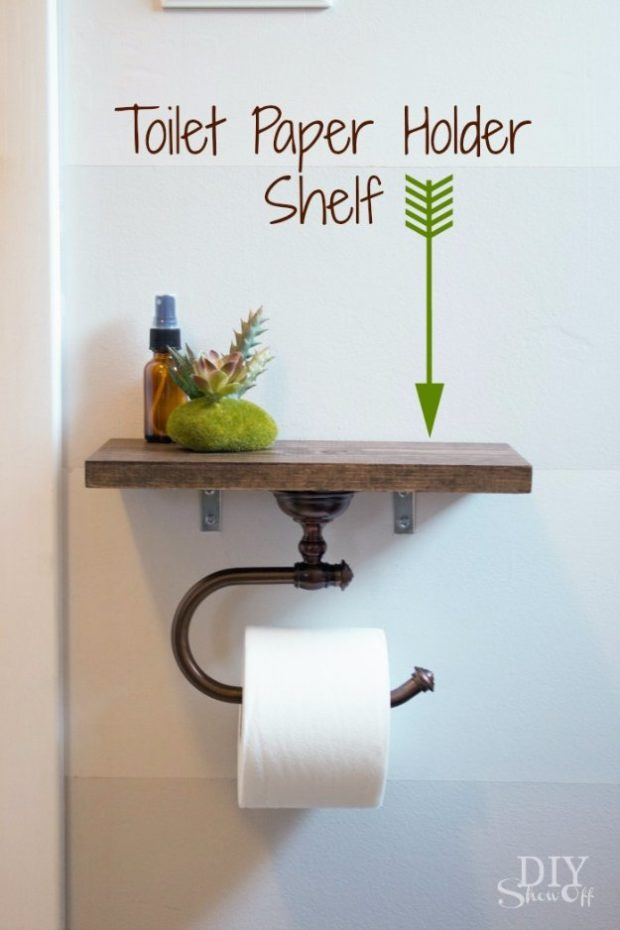 15 Genius DIY Ideas To Improve Your Bathroom For Free (2)