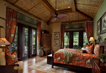 17 Gorgeous Master Bedroom Design Ideas in Tropical Style - tropical style, tropical decor, tropical bedroom ideas, bedroom design ideas, bedroom decor