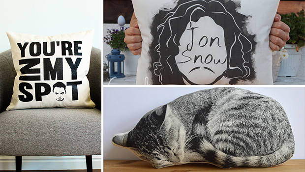 16 Amusing Decorative Pillow Designs That Make The Perfect Gifts - print, plush, pillowcase, Pillow, hoousewarming, homecoming, home, harry potter, gifts, gift, Game Of Thrones, decorative, decoration, cushion