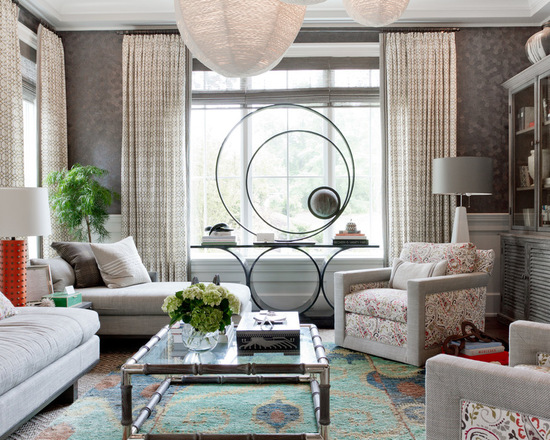 20 Lovely Living Room Wallpaper Ideas