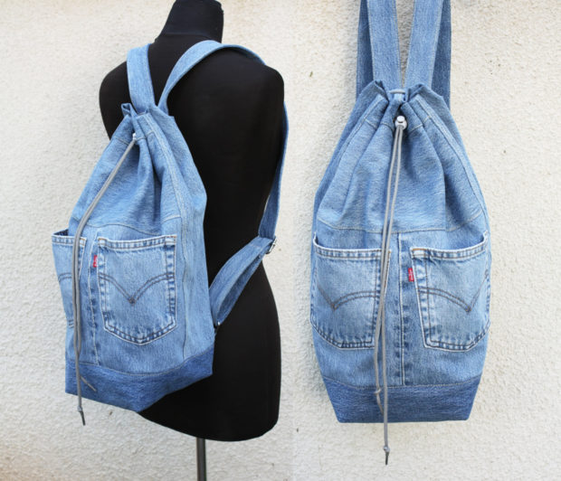 17 Chic Handmade Bags From Repurposed Materials (12)