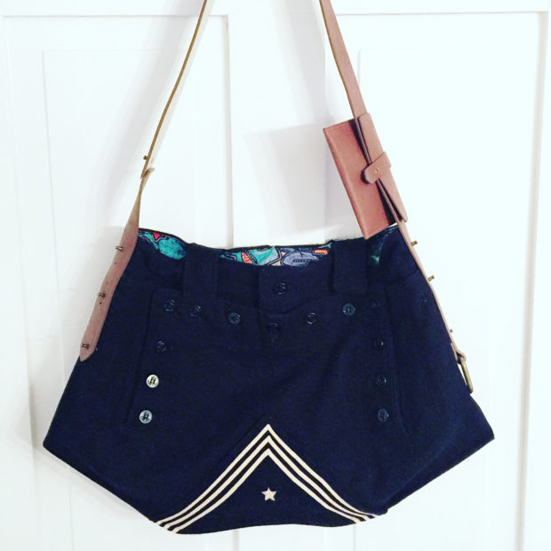 17 Chic Handmade Bags From Repurposed Materials