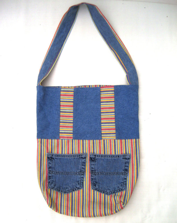 17 Chic Handmade Bags From Repurposed Materials (3)