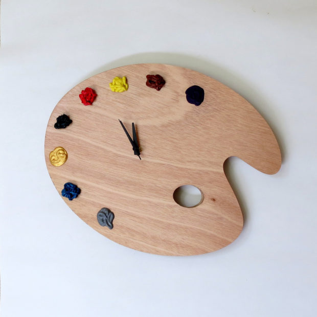 17 Inspirational Handmade Wall Clock Ideas That You Can Express Yourself With (11)