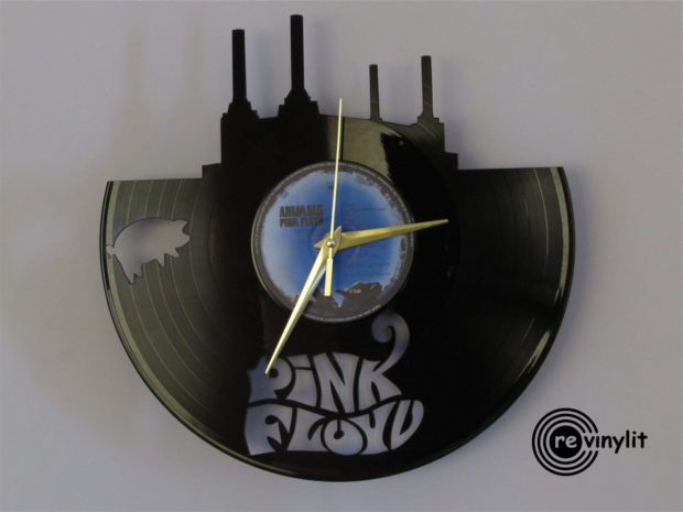 17 Inspirational Handmade Wall Clock Ideas That You Can Express Yourself With (12)