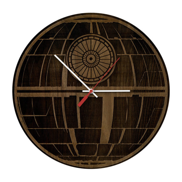 17 Inspirational Handmade Wall Clock Ideas That You Can Express Yourself With (17)