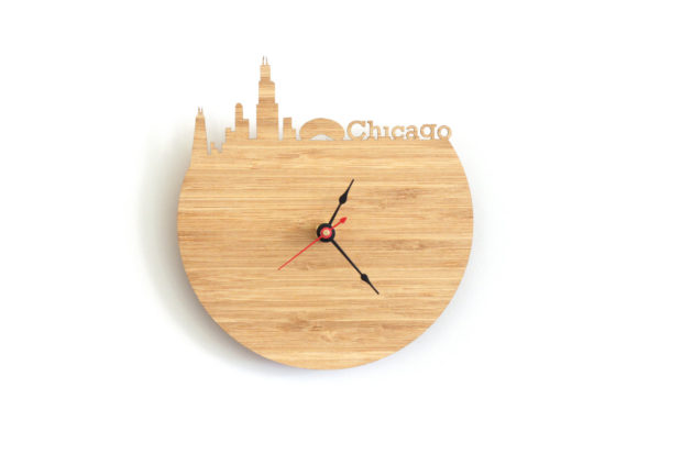 17 Inspirational Handmade Wall Clock Ideas That You Can Express Yourself With (2)