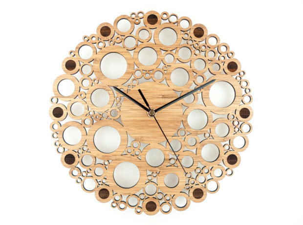 17 Inspirational Handmade Wall Clock Ideas That You Can Express Yourself With (3)