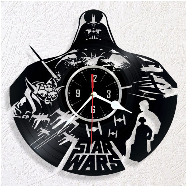 17 Inspirational Handmade Wall Clock Ideas That You Can Express Yourself With (5)