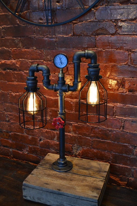 17 inventive handmade industrial lamp designs that will