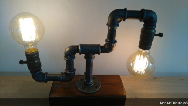 17 Inventive Handmade Industrial Lamp Designs That Will Give You Ideas