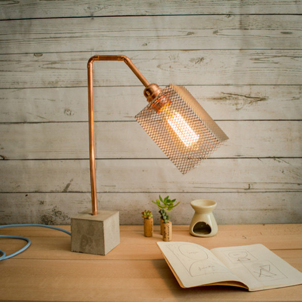 17 Inventive Handmade Industrial Lamp Designs That Will Give You ...