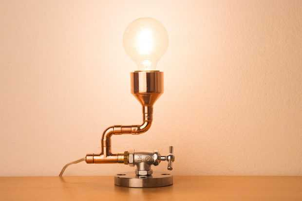 17 Inventive Handmade Industrial Lamp Designs That Will ...