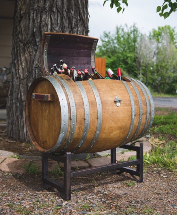 18 Interesting Ideas To Repurpose Old Wine Barrels (12)