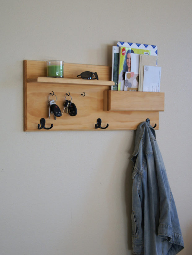 18 Practical Handmade Coat Rack Ideas You Can Produce By Yourself (1)
