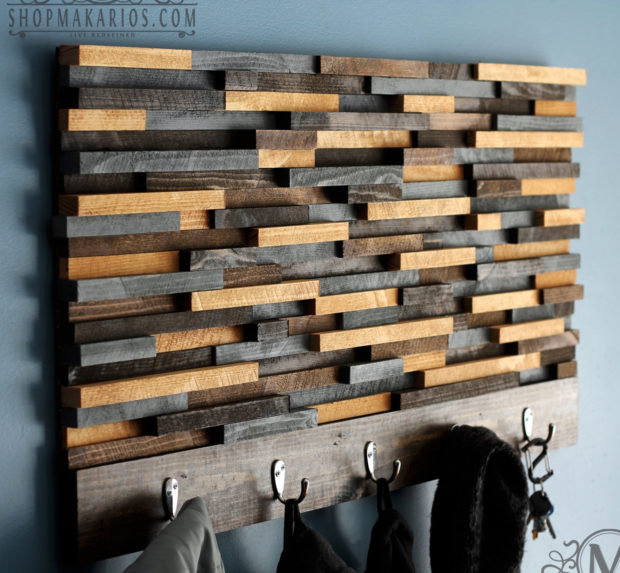 18 Practical Handmade Coat Rack Ideas You Can Produce By Yourself (11)