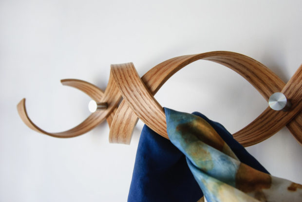 18 Practical Handmade Coat Rack Ideas You Can Produce By Yourself (15)