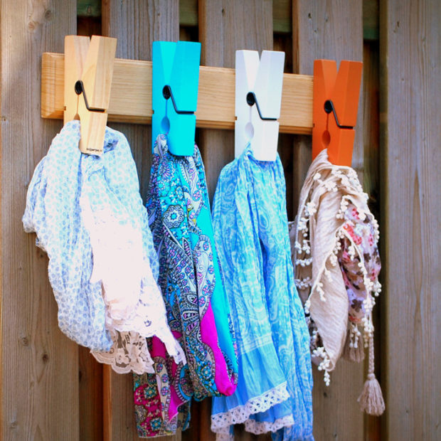 18 Practical Handmade Coat Rack Ideas You Can Produce By Yourself (16)