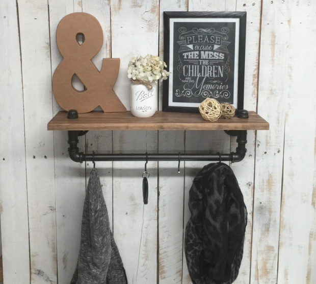 18 Practical Handmade Coat Rack Ideas You Can Produce By Yourself