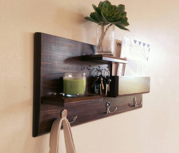 18 Practical Handmade Coat Rack Ideas You Can Produce By Yourself (7)