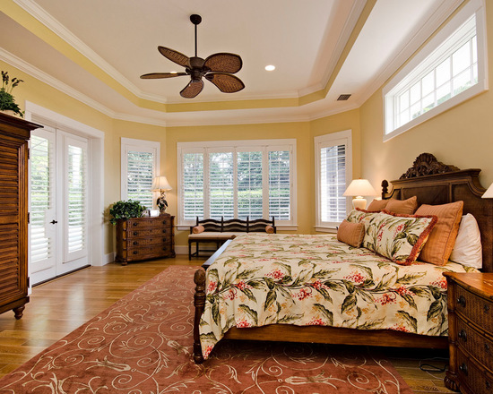 17 gorgeous master bedroom design ideas in tropical style for Exotic bedroom decor