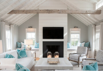 20 Gorgeous Beach Style Living Room Design and Decor Ideas - living room ideas, living room design, living room decor, beach style living room, beach style design, beach style