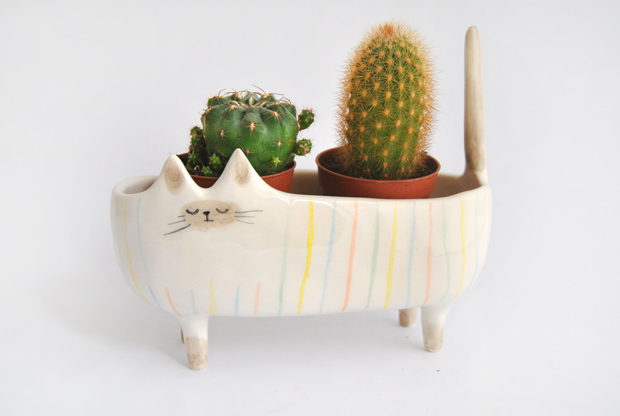 20 Cool Handmade Planter Designs For Indoor And Outdoor Use (17)
