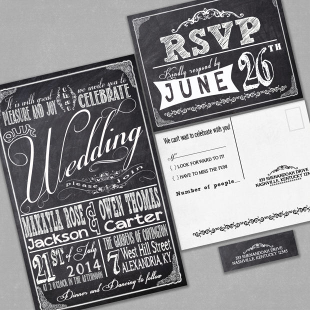 20 Creative Wedding Invitations For The Best Day Of Your Life (11)