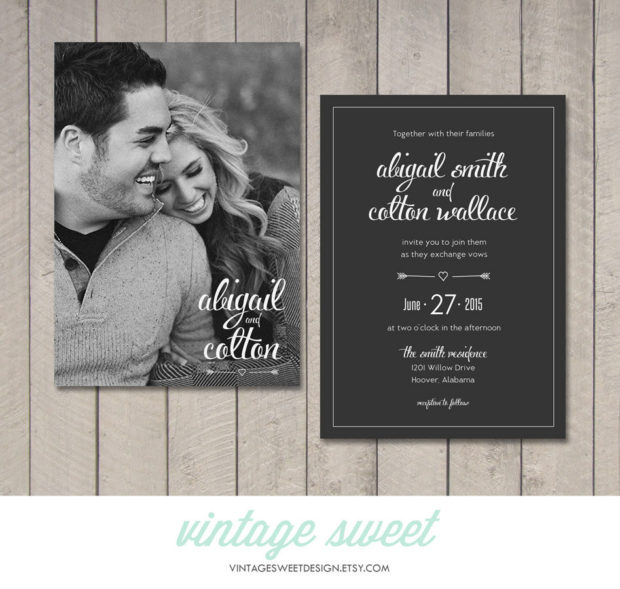 20 Creative Wedding Invitations For The Best Day Of Your Life (16)