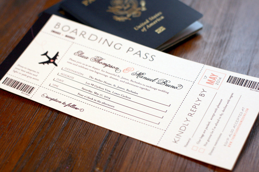 20 Creative Wedding Invitations For The Best Day Of Your Life ...