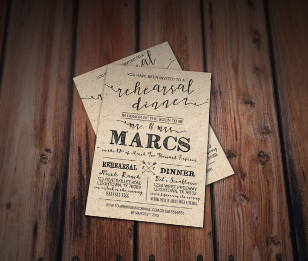 20 Creative Wedding Invitations For The Best Day Of Your Life (4)