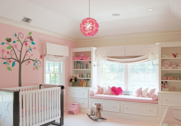 20 Steal-Worthy Decorating Ideas For Baby Nurseries (Part 1) - Nursery room, kids room, Baby Nurseries