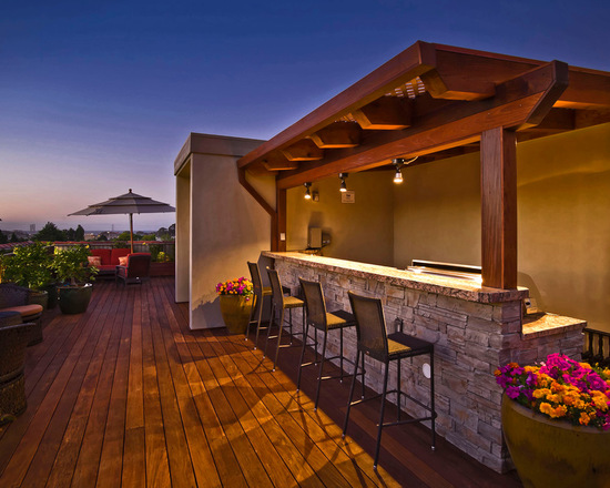 18 Amazing Deck Bar Design Ideas