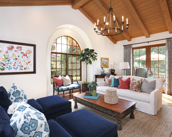 19 Bright, Cheerful Living Room Design and Decorating Ideas