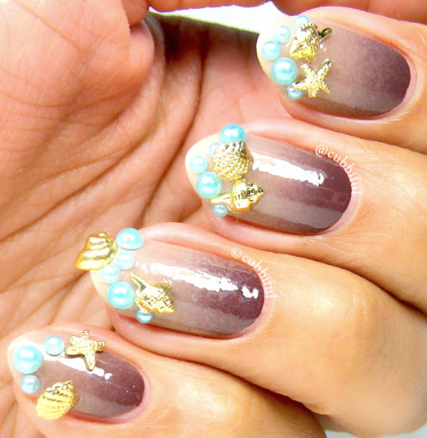 17 Gorgeous Fashion Inspired Nail Art Ideas