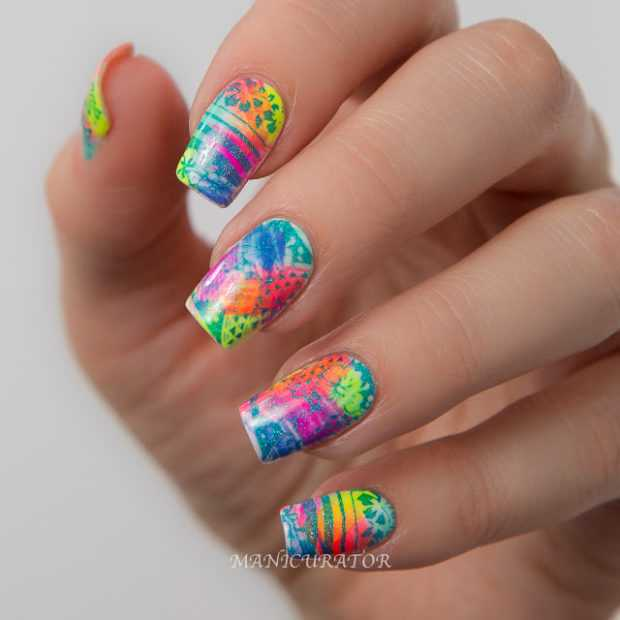 Make A Statement This Summer with a Gorgeous Neon Nails Design ...