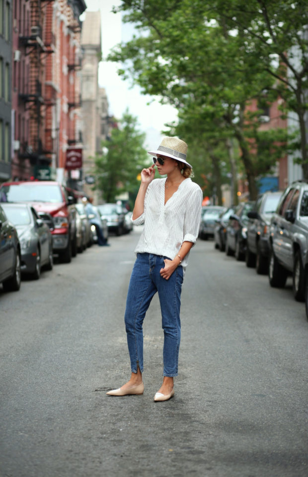 18 Ways to Style Whit Shirt This Summer (Part 1)