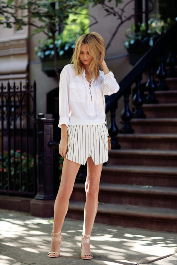 18 Ways to Style Whit Shirt This Summer (Part 2)
