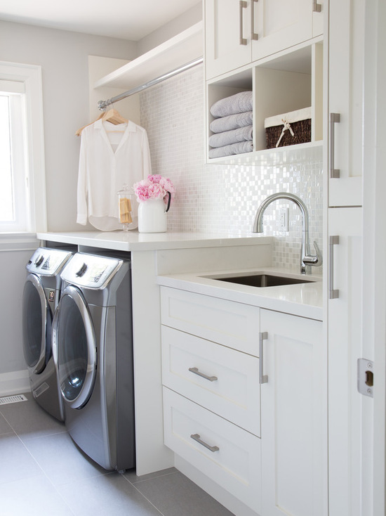 18 Great Laundry Room Design Ideas That'll Make You Want To Do Laundry