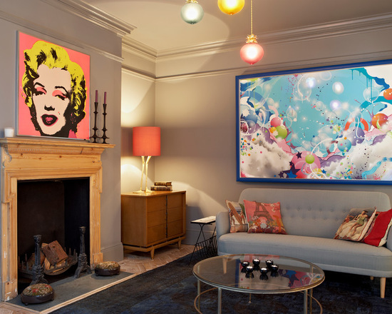 17 Modern Pop Art Interior Decor Ideas