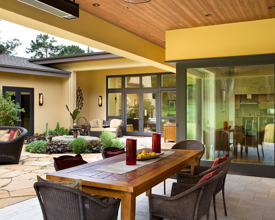17 Outstanding Outdoor Dining Room Design Ideas (Part 1)